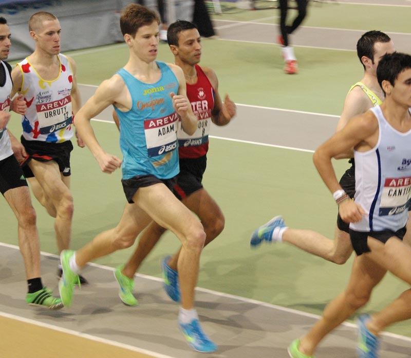 france elites 2013 ga - QUAND GUILLAUME ADAM AFFOLE LES CHRONOS SUR 1500M ! / 17-02-13