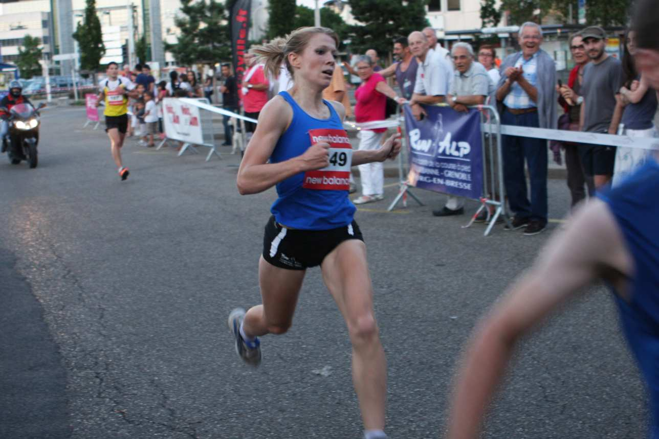 3 - ANNE-SOPHIE VITTET, DU 3000M STEEPLE A LA COURSE NATURE / 23-09-12