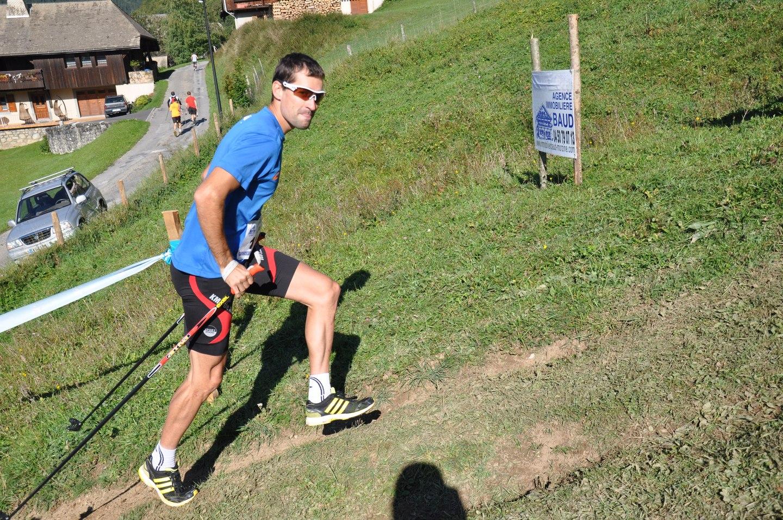 Remi Cusin cycliste Pro - PHOTOS DU KM VERTICAL DE NANTAUX CRAZY IDEA / 16-09-12