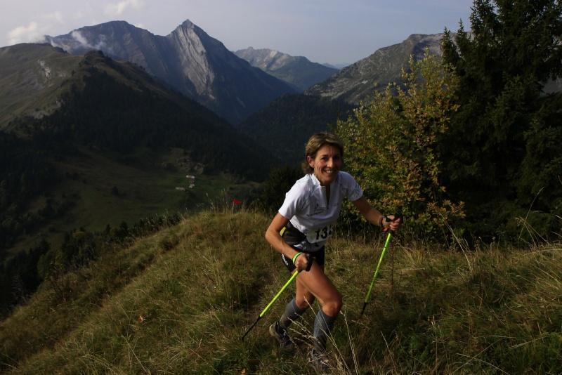 trail 10 - ENTRETIEN AVEC NADEGE CAVAGNA APRES SON TRIOMPHE SUR LE TRAIL D'ALBERTVILLE ET LE CHALLENGE DES BAUGES / 25-09-11