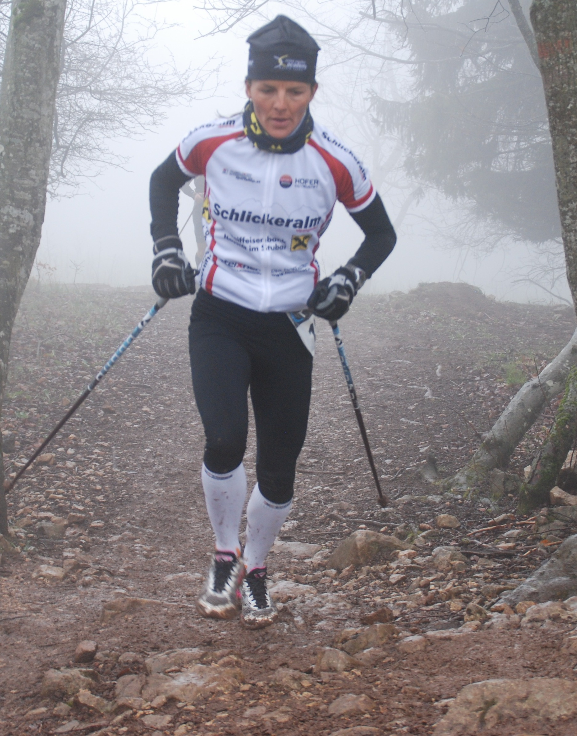 Andréa Reithmayr 1 - L'ULTRA MONTEE DU SALEVE EN LIGNE DE MIRE / 13-04-13