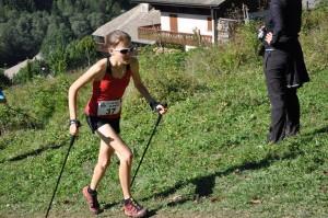 DSC 3249 300x199 - Axelle Mollaret, lauréate en 39'30 sur le Km Vertical de Nantaux, le 16 septembre 2012