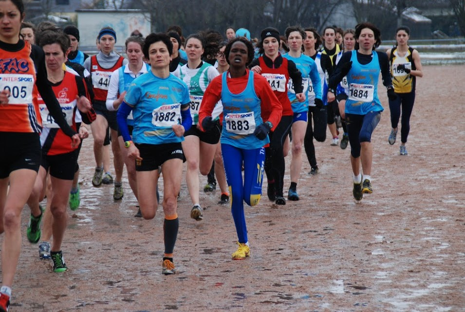 100212226 - LES CHANCES DE L'ATHLE SAINT-JULIEN 74 AUX CHAMPIONNATS DE FRANCE DE CROSS-COUNTRY / 03-03-13