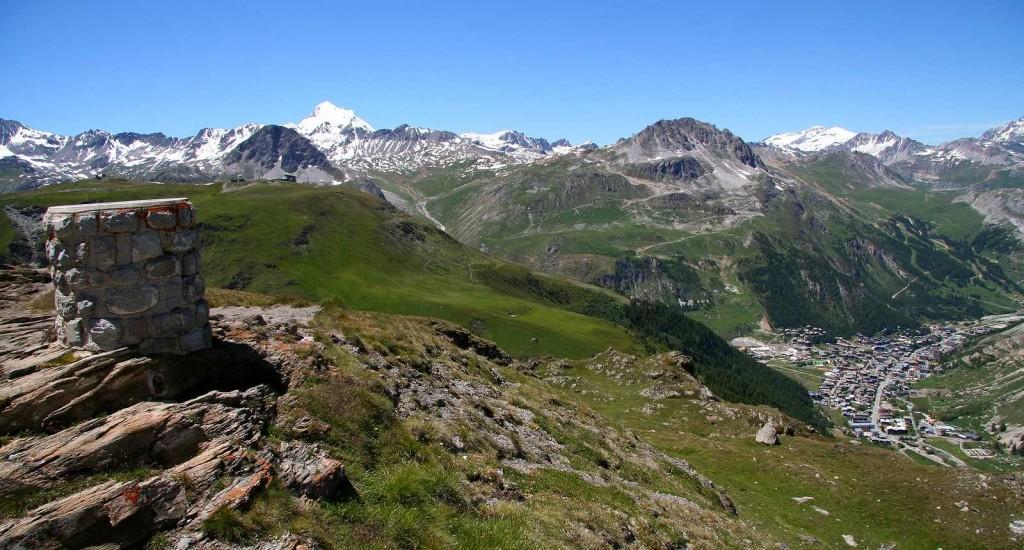 Paysage de Val d'Isère