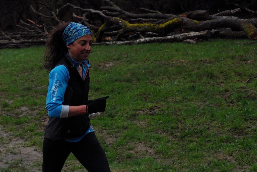 Trail passage Emilie Deronzier au dessus de Droisy.jpg 1024x685 - RESULTATS ET PHOTOS DES PRINCES EN FOULEES / 20-04-13
