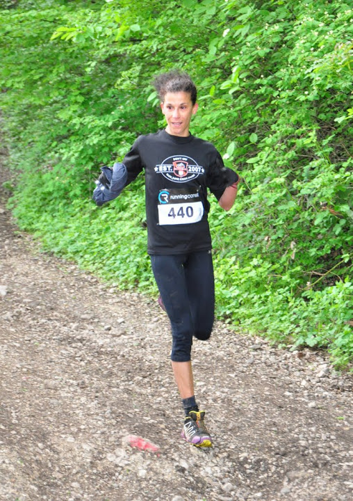 1ere feminine 18 km - VIDEO ET PHOTOS DU TRAIL DU SALEVE / 12-05-13