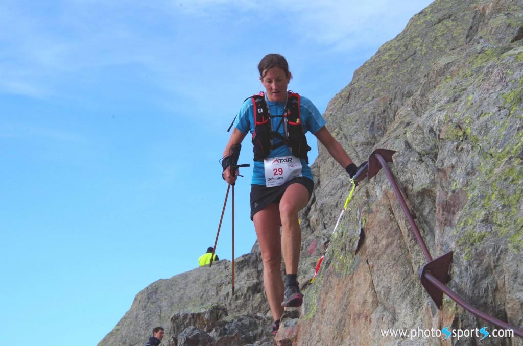 1 Delphine Avenier première 50 km Trail Aiguilles Rougesphotos www.photosports 1024x678 - Résultats Trail des Aiguilles Rouges 2013