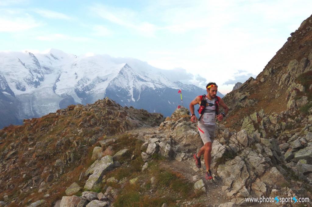 2 Michel Rabat premier 50 km Trail Aiguilles Rouges photos www.photosports