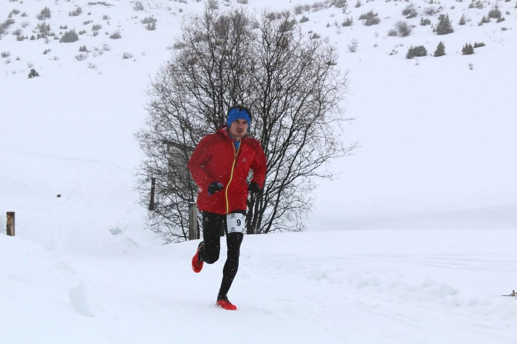 6 Florian Mairy premier espoir 19 km photo Robert Goin 1024x682 - Résultats et vidéos snow trail Ubaye Salomon