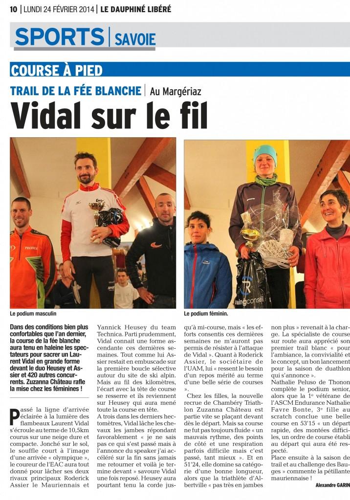 PDF Page 38 edition de chambery 20140224 716x1024 - Résultats Trail de la fée blanche Activasport (Margériaz 73)