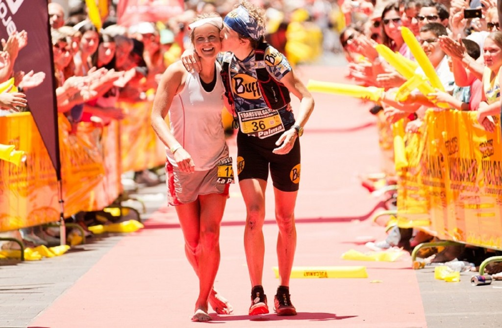 2 Emelie Forsberg winner Nuria Picas 2nd. ® Jordi Saragossa 1024x669 - Transvulcania 2014 : Le rendez-vous des stars !