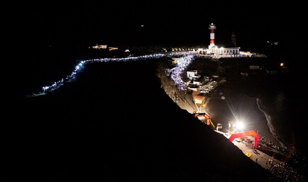 2 Transvulcania start. ® Jordi Saragossa 1024x604 - Transvulcania 2014 : Le rendez-vous des stars !
