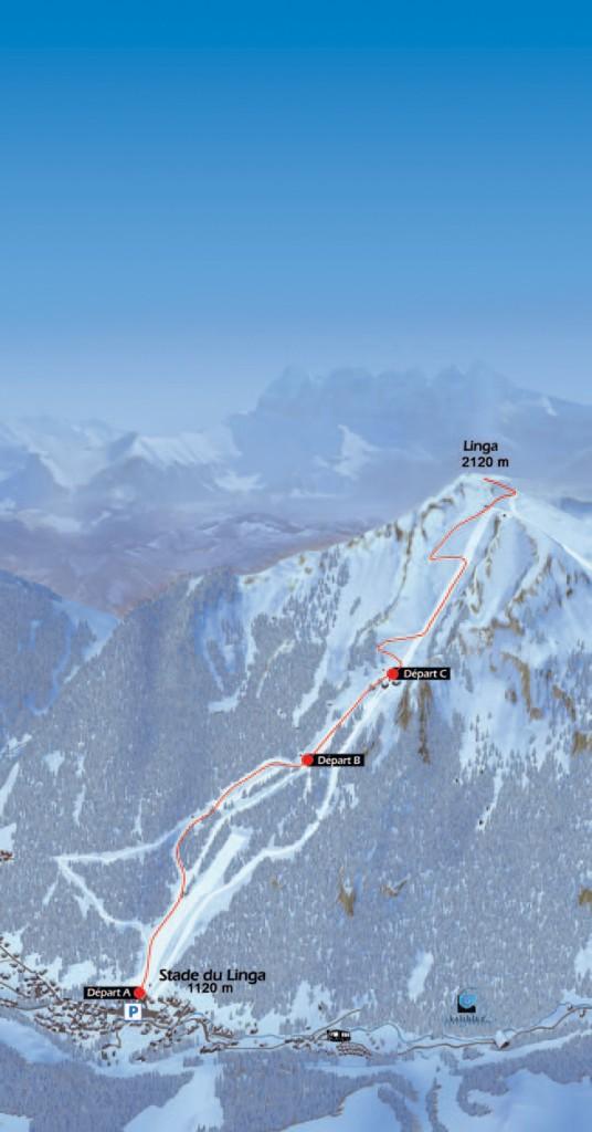 Bulletin inscription Montee du Linga 14 26 536x1024 - 2ème édition du Challenge Ski alpinisme/trail MONNET