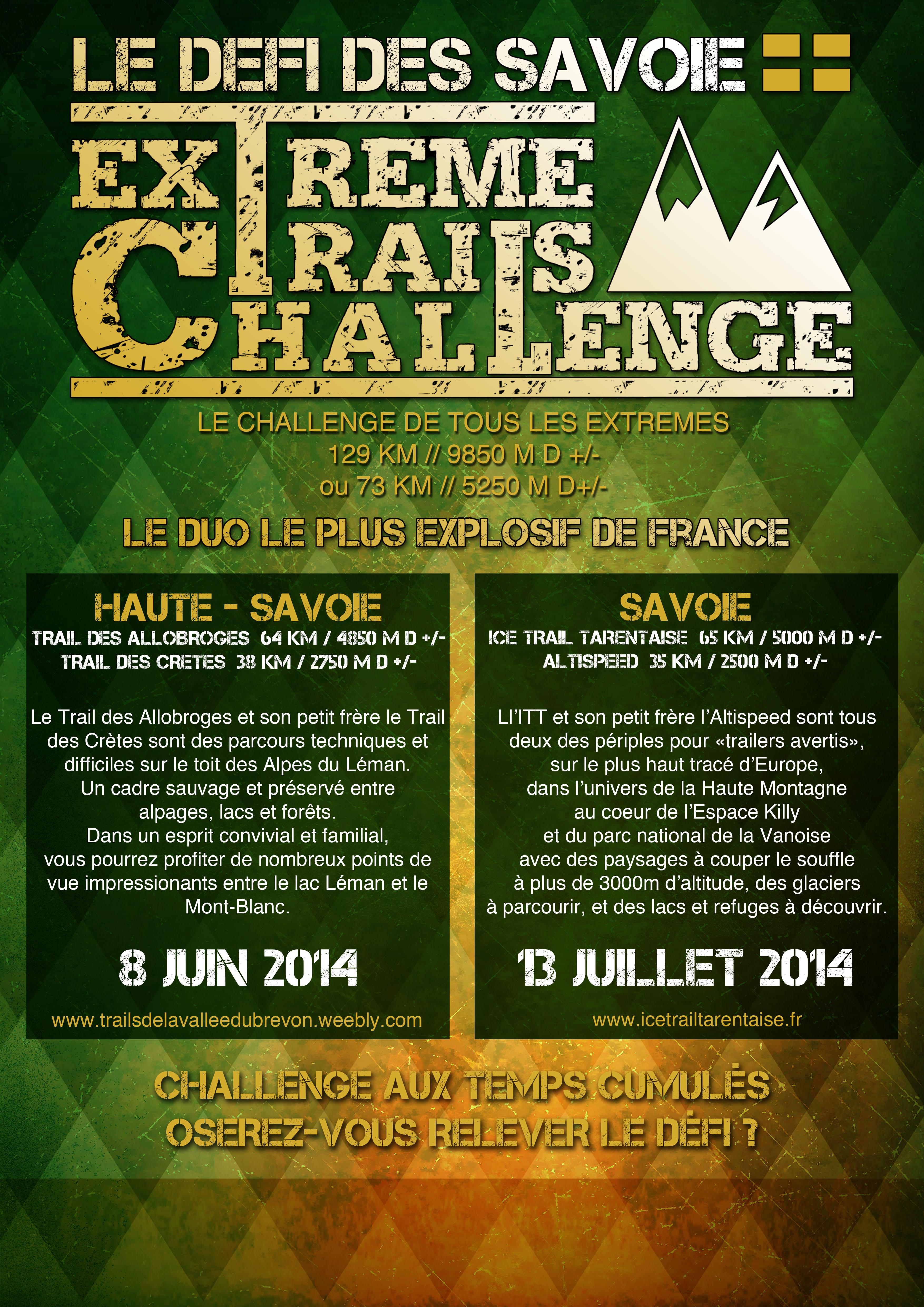 EXTREME TRAILS CHALLENGE 2014