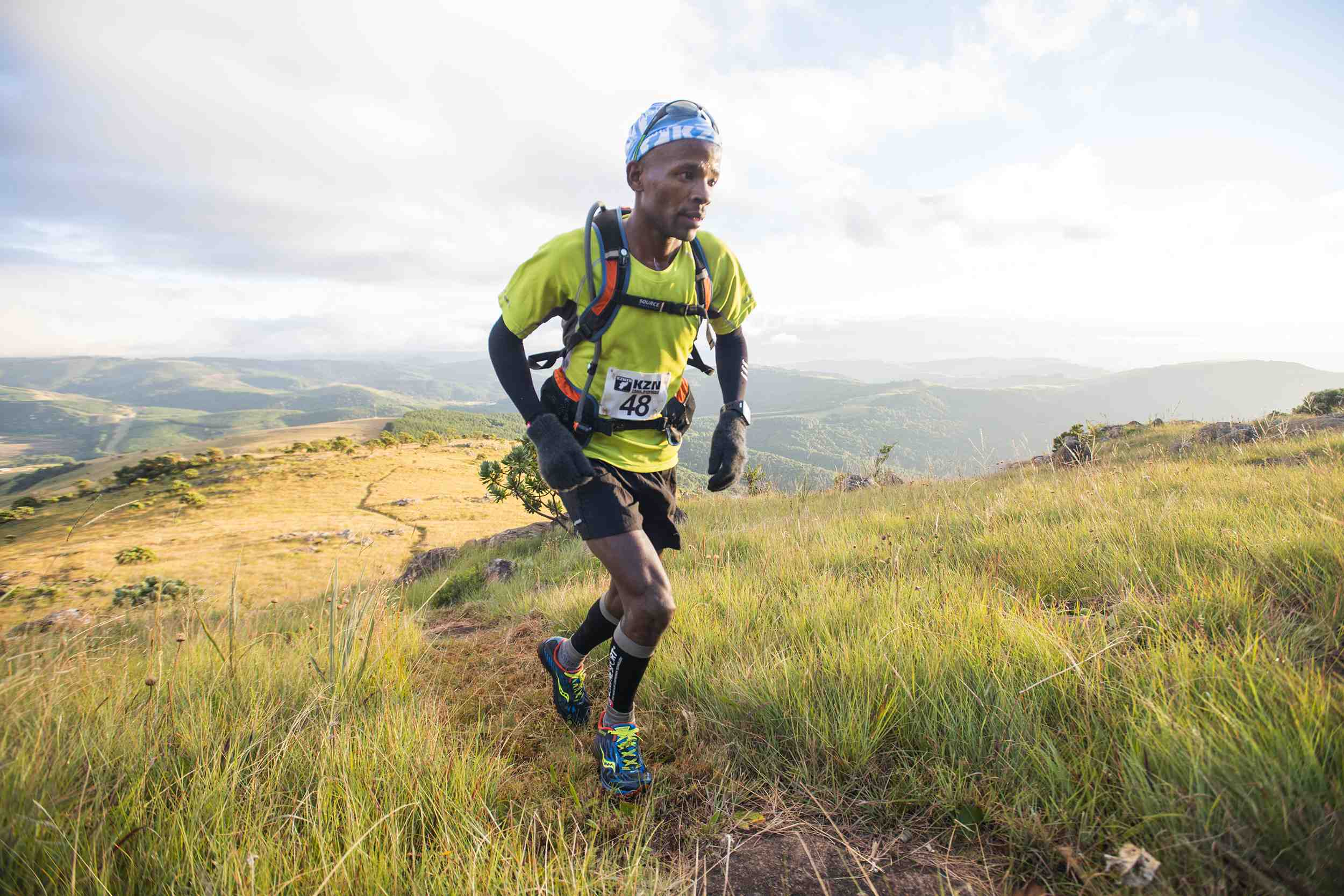 Lucky Miya (Photo : SA Skyrunning Association)