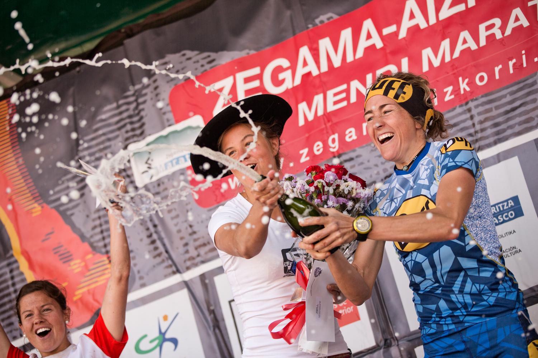 Le podium féminin 2013 -Forsberg/Picas/Kremer  © Jordi Saragossa