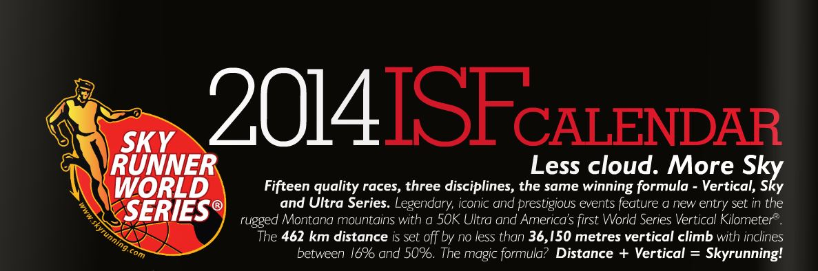 isf - Skyrunners World series 2014 : le mag de présentation !