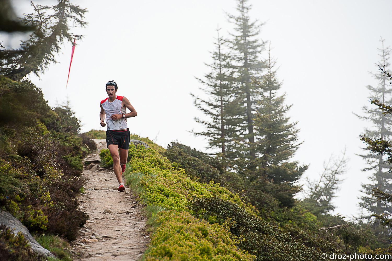2 Kilian Jornet Marathon du Mont Blanc. Photo Damien Rosso www.droz photo.com  - Marathon du Mont Blanc : Entretien avec Jean Michel Faure Vincent (Team Manager Salomon) par Robert Goin