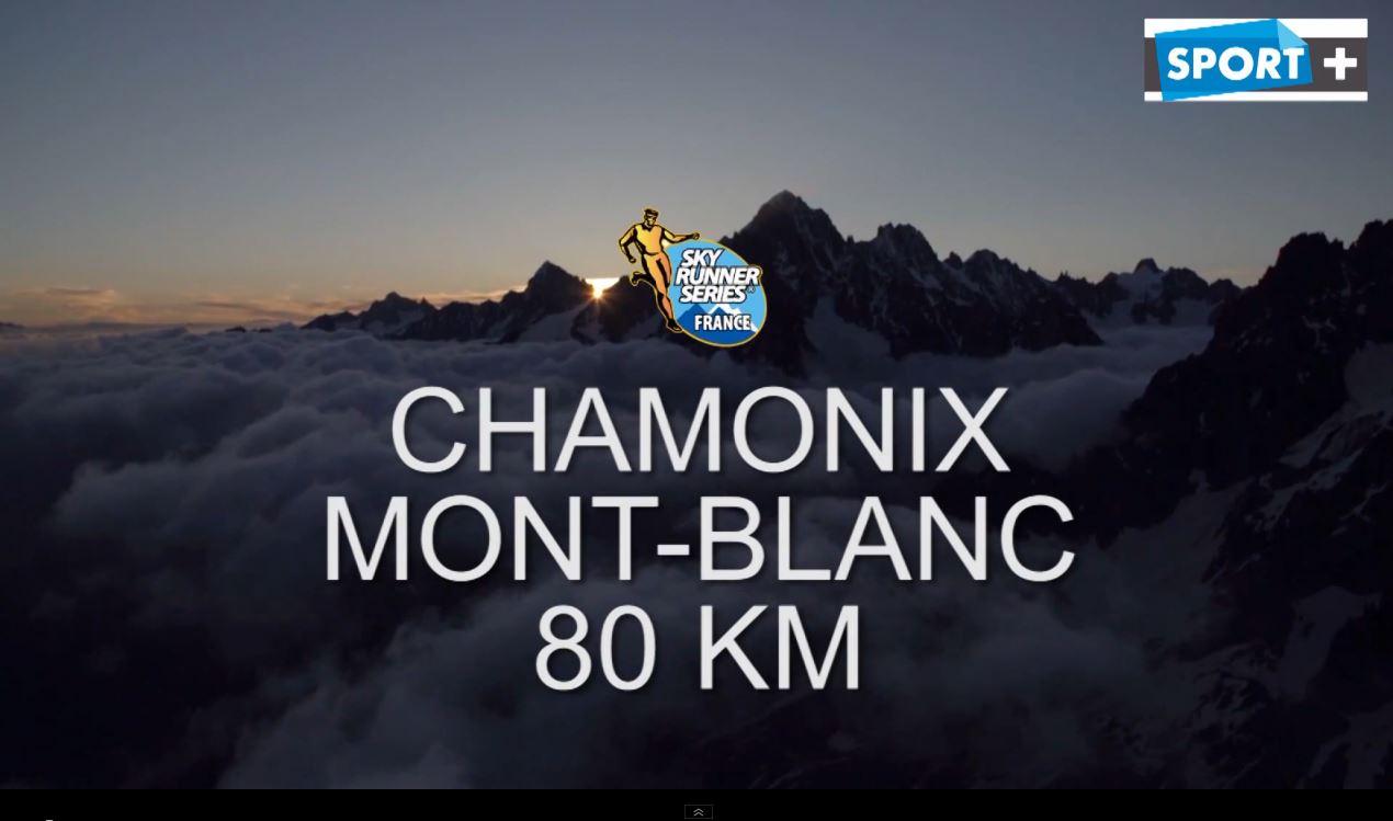 """Capture - La vidéo SPORT+ des épreuves du """"Marathon du Mont Blanc 2014"""""""