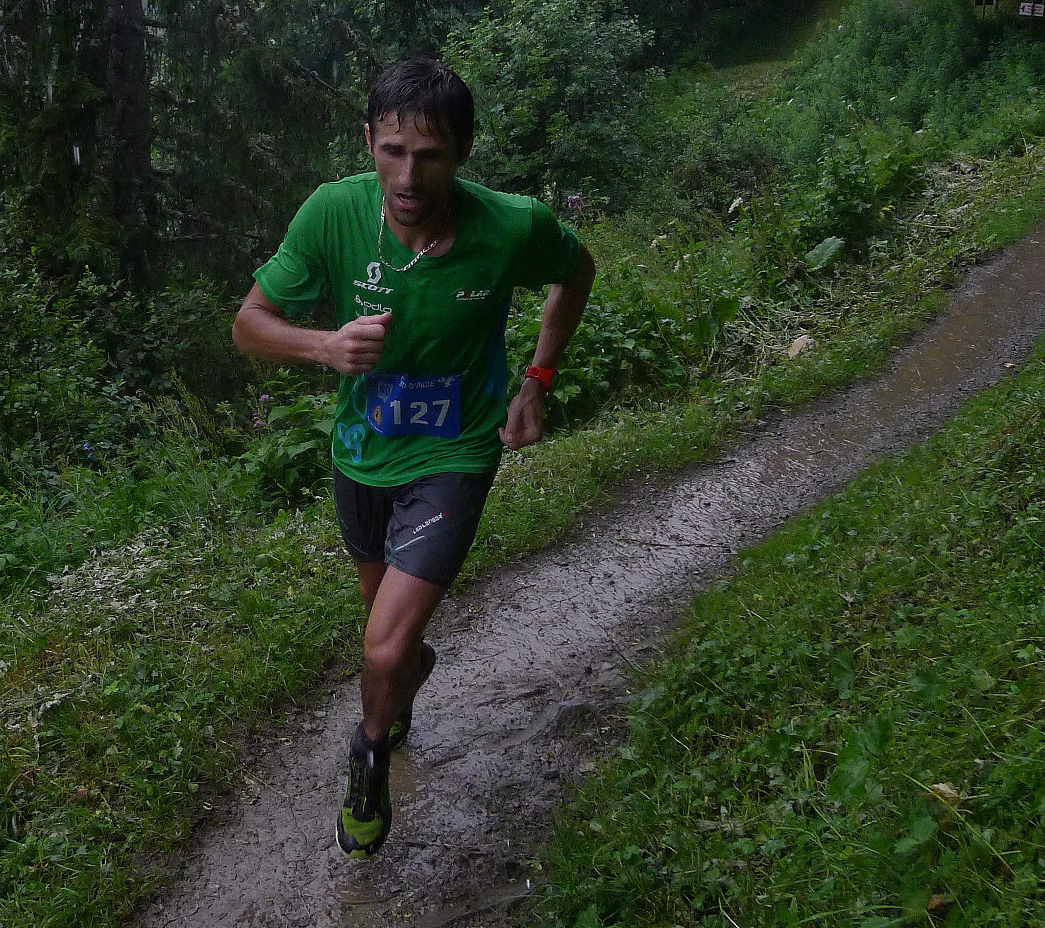 Course en montagne Adrien Michaud NA 2014