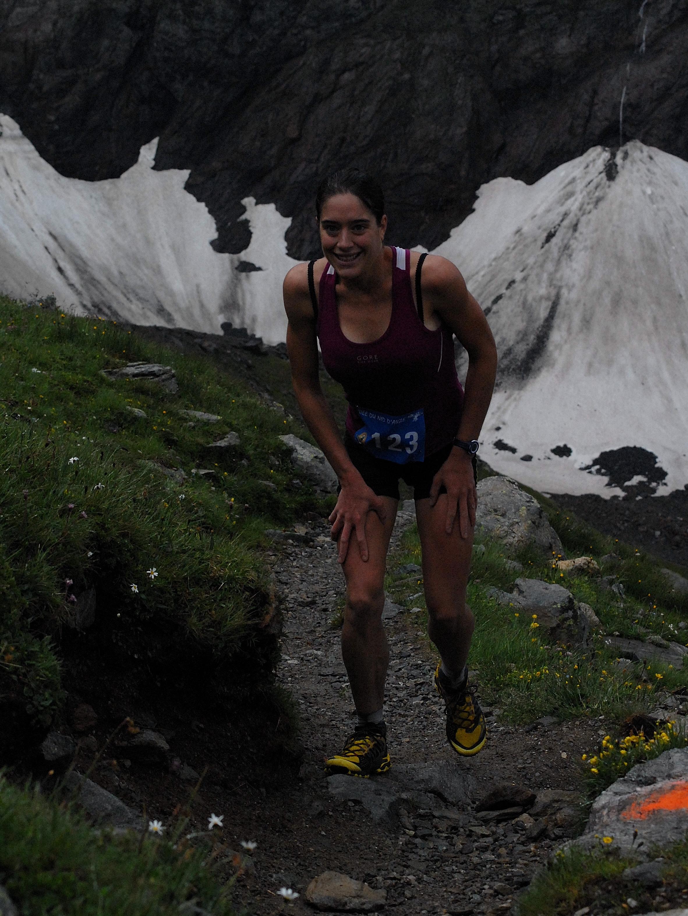 Course en montagne Celia Chiron