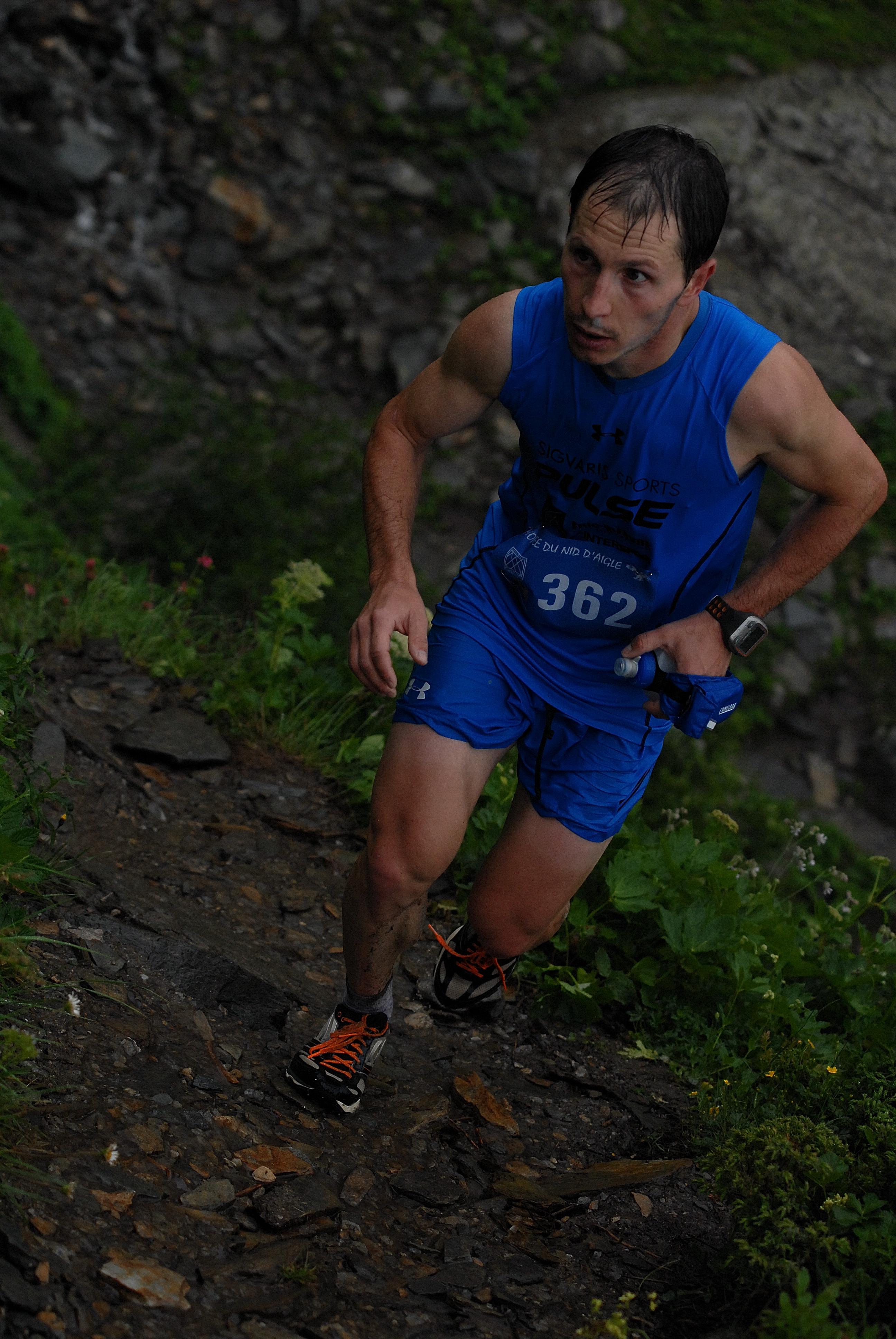 Course en montagne Nicolas Martin NA