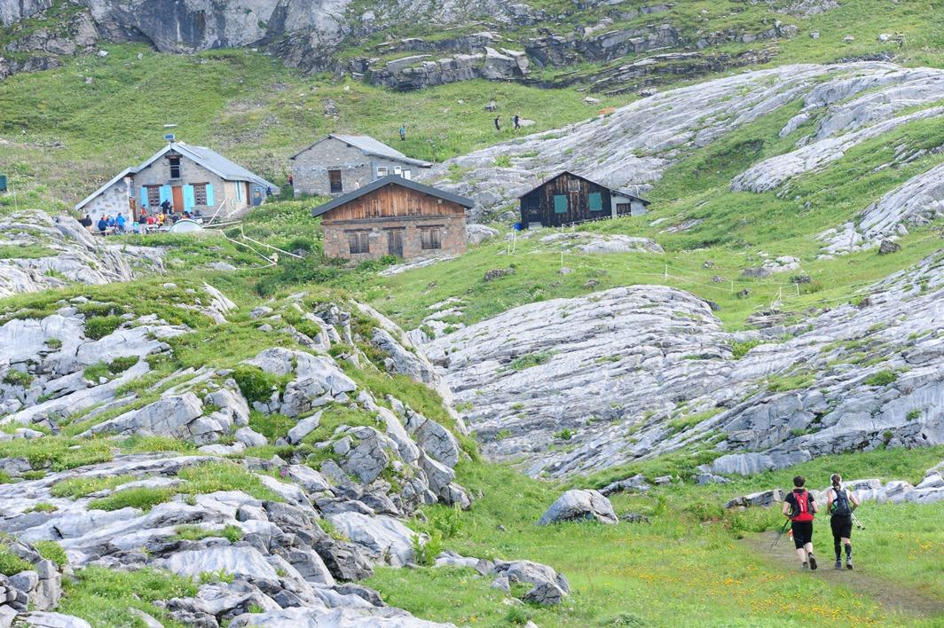 DSC 9085 Refuge de Platé c Photo connect bd - Résultats du Quechua Tour des Fiz (communiqué de l'office de tourisme de Passy) / 27-07-14