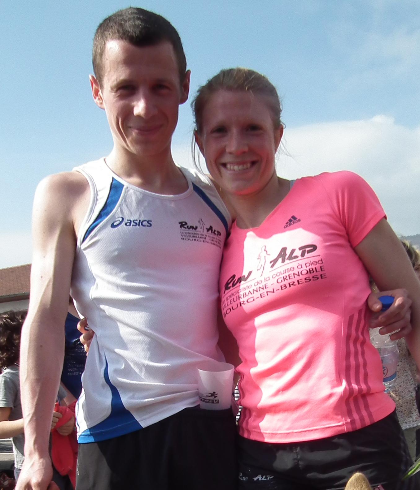 le couple de vainqueurs - LUCAS CHAUME EN PLEIN BOOM ! / 06-07-14