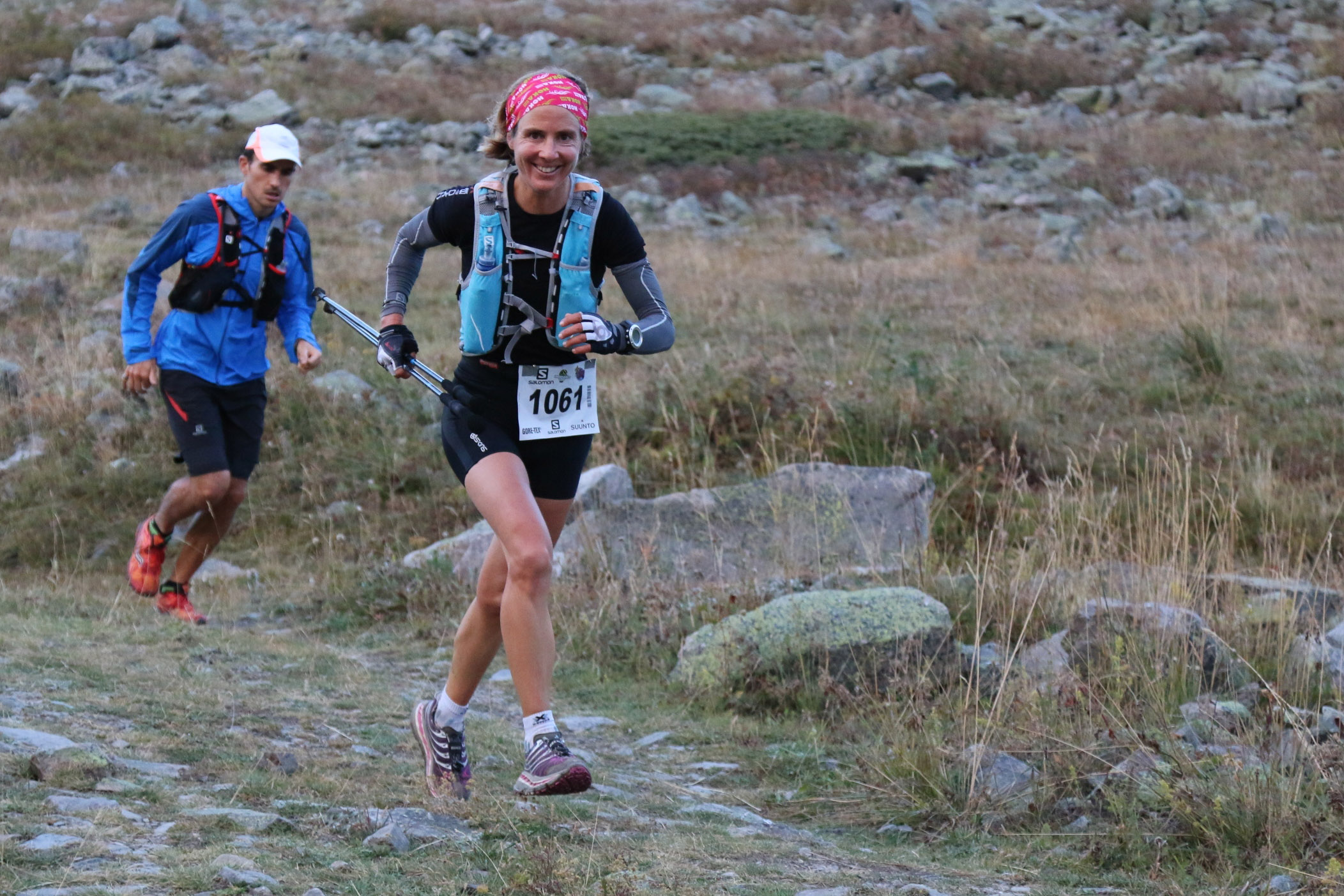 1 Serre Che trail Salomon 2014 Caroline Chaverot 1ère  48 km photo Robert Goin