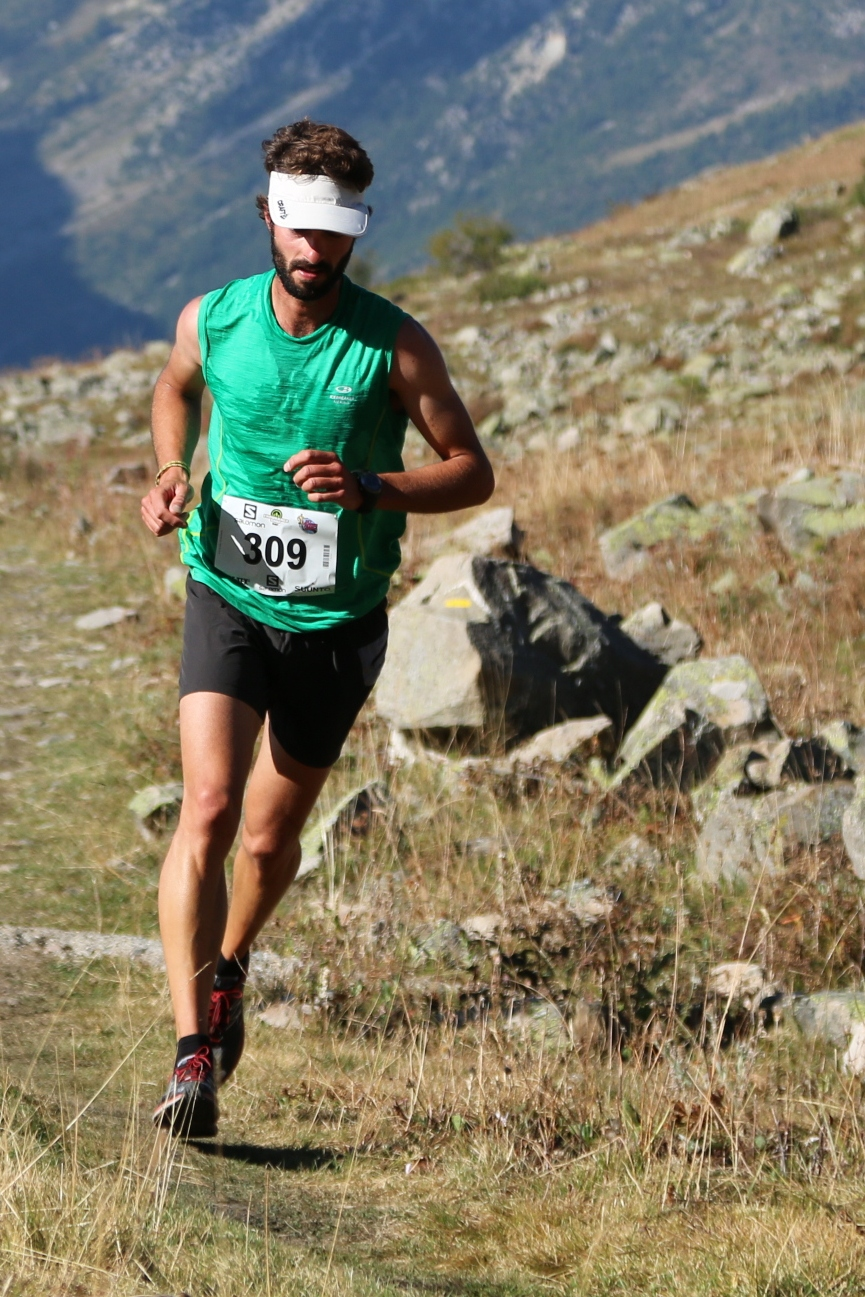 4 Serre Che trail Salomon 2014 Andreu Prost 1er  27 km photo Robert Goin