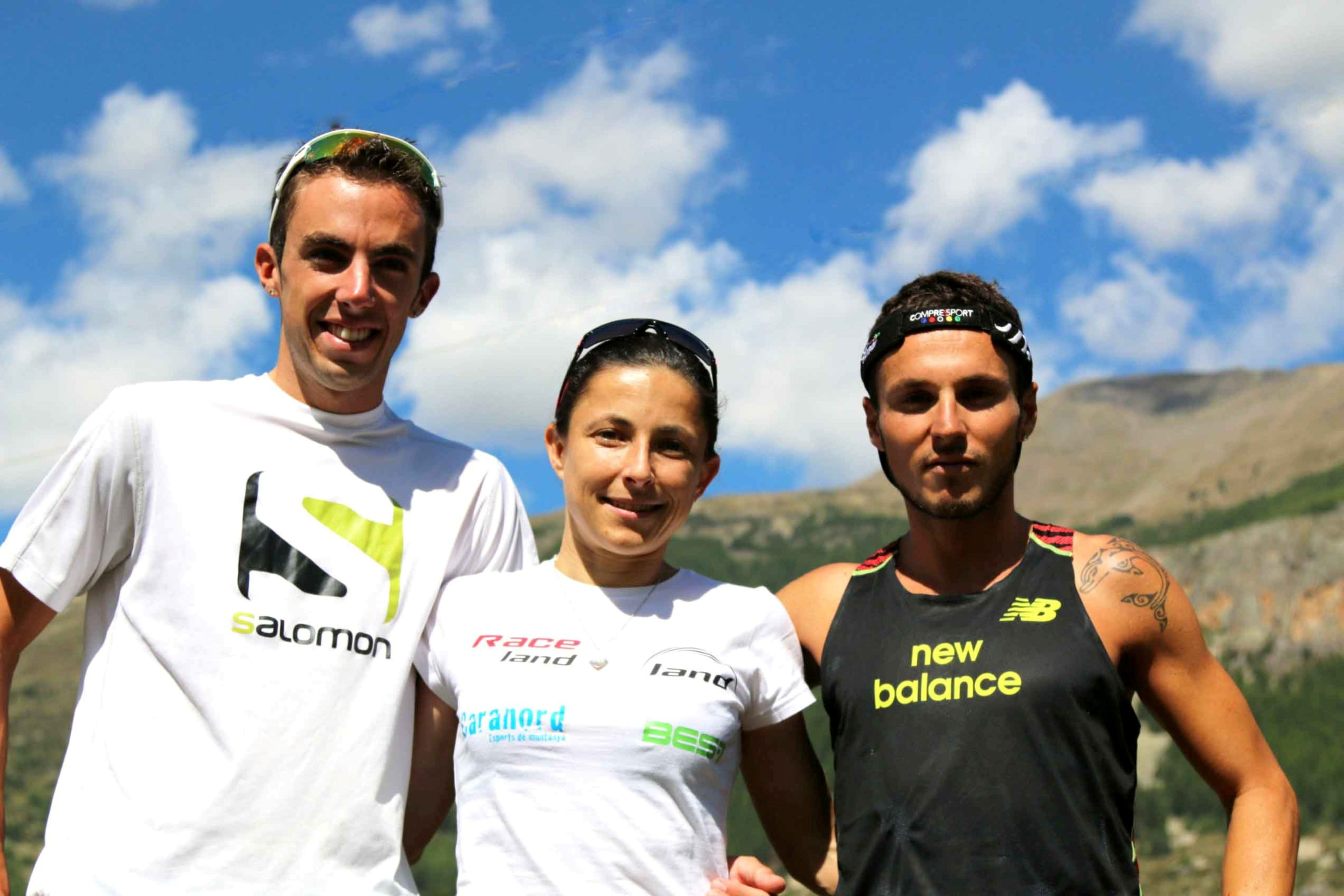5 Les 3 vainqueurs 2014 de g à d  Matthias Mouchart Virginie Govignon Julien Navarro photo Robert Goin