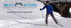 banniere ski - Maïlys Drevon vous propose des stages de ski de fond pour diversifier vos entraînements ! Une excellente idée ! ...