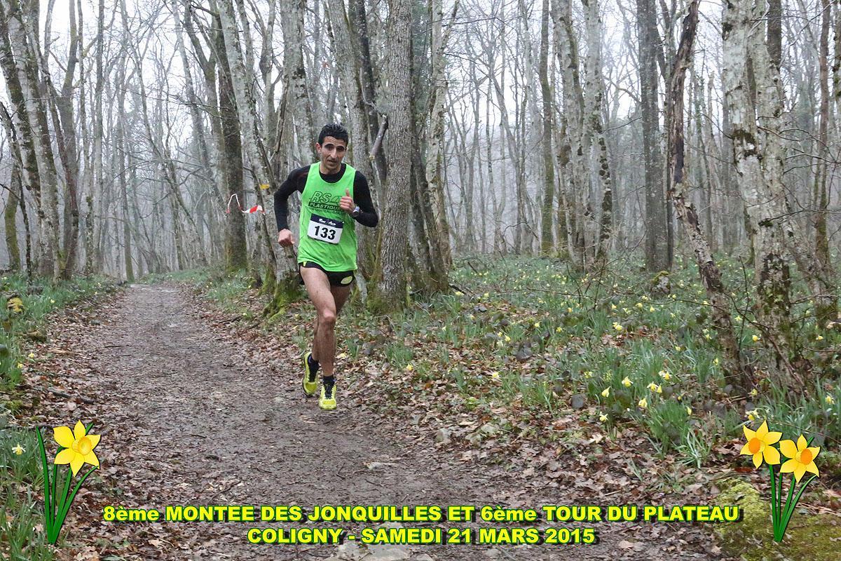 coligny15b - RESULTATS, COMPTE RENDU ET PHOTOS DE LA MONTEE DES JONQUILLES, RAMPE DE LANCEMENT DU CHALLENGE DE L'AIN DE COURSE EN MONTAGNE / 21-03-15