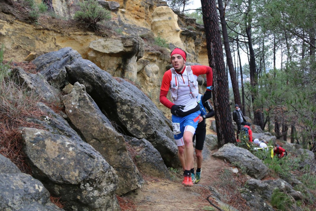 2 Matthias Mouchart photo Robert Goin 1024x683 - VERTICAUSSES 2015 : 2ème étape des Salomon Skyrunner France Series  (article de Robert Goin)