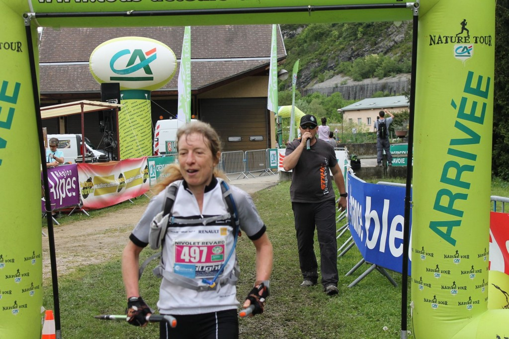 Sylvie quittot 3ème femme du 51km 1024x682 - RESULTATS TRAIL DU NIVOLET-REVARD 2015 (compte rendu et photos par Alexandre Garin)