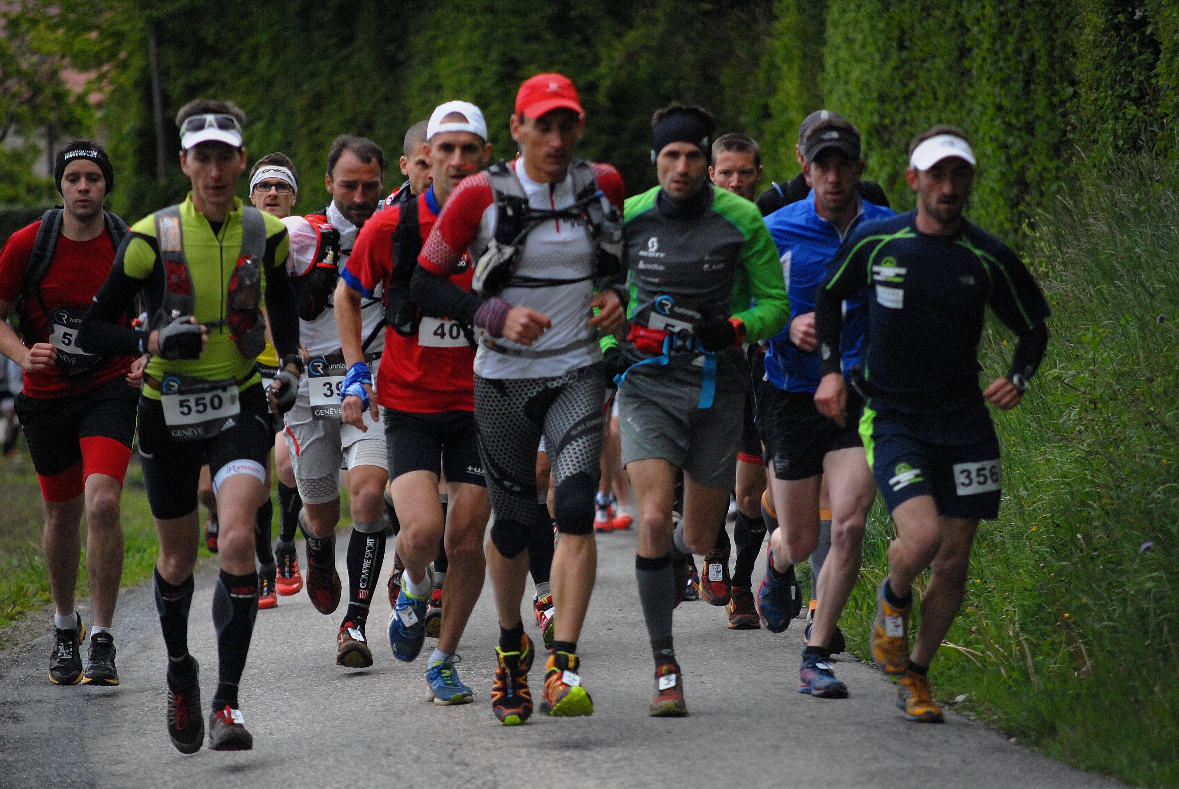 Trail Depart Trail 2014 - PRESENTATION DU TRAIL DU SALEVE / 10-05-15