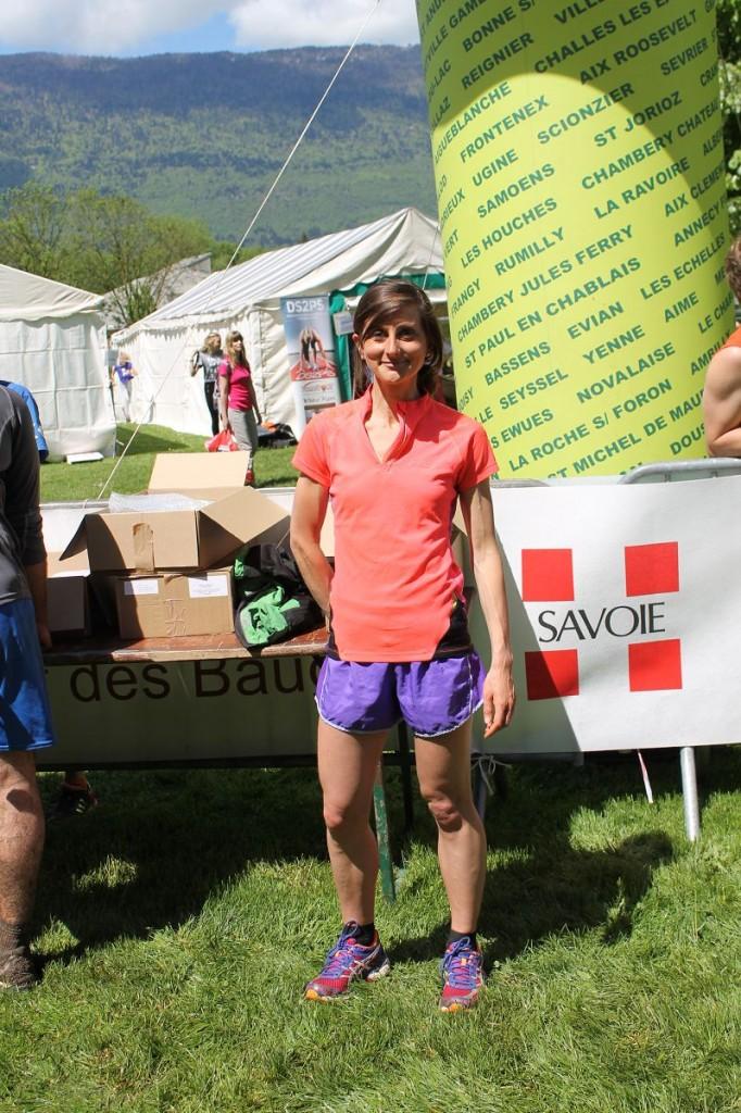 marie dohin a remporté le 13km