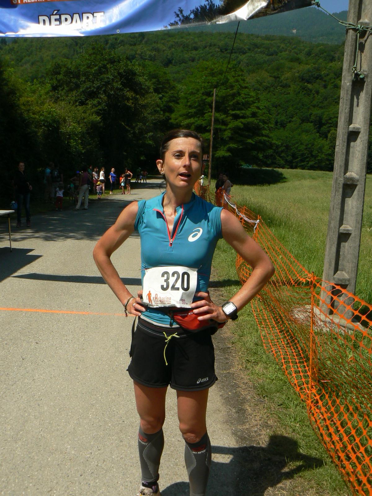 Marie Dohin 2  - RESULTATS, COMPTE RENDU ET PHOTOS DE L'ARBARINE / 07-06-15