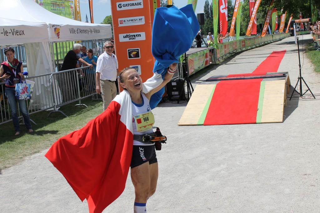 natahlie mauclair championne du monde