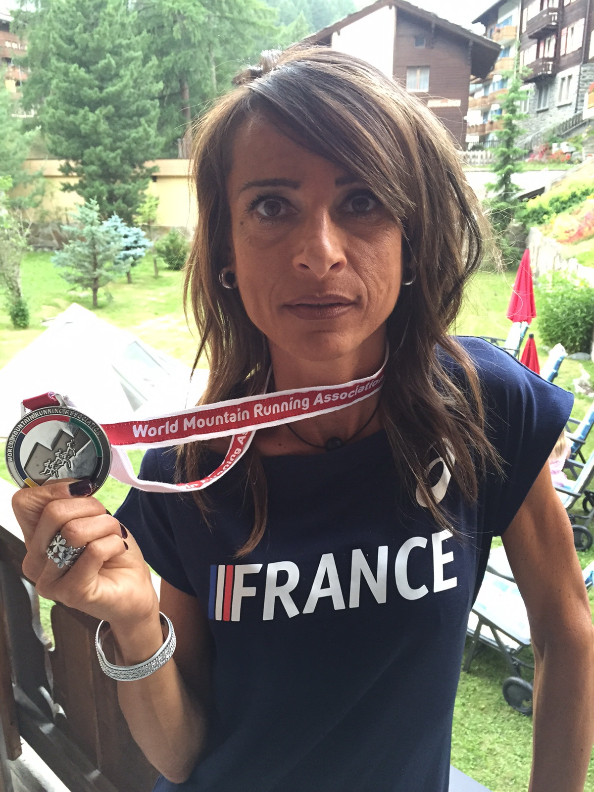 photo 2 - ZERMATT MARATHON (SUISSE) : ALINE CAMBOULIVES, VICE-CHAMPIONNE DU MONDE DE COURSE EN MONTAGNE LONGUE DISTANCE ! / 04-07-15
