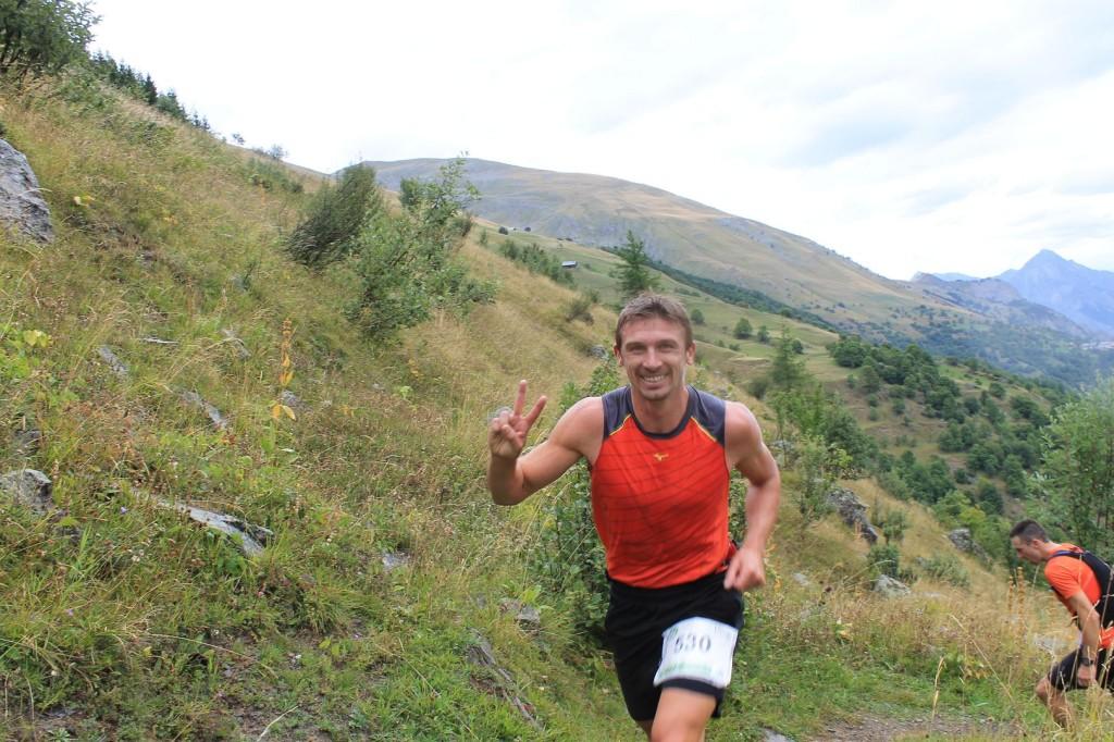 Didier Iket organisateur du trail du Mt St Michel