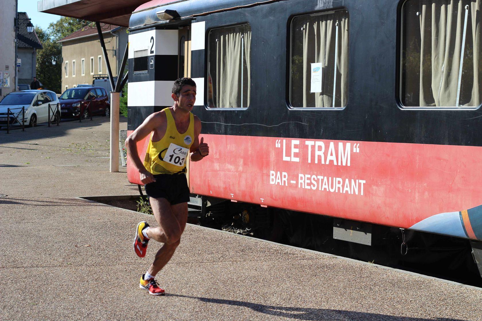 2 eme Tram - RESULTATS, COMPTES RENDUS ET PHOTOS DE LA VOIE DU TRAM A BELLEGARDE / 04-10-15