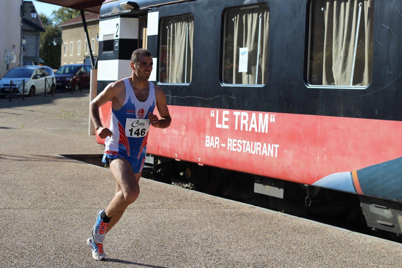 4 eme Tram - RESULTATS, COMPTES RENDUS ET PHOTOS DE LA VOIE DU TRAM A BELLEGARDE / 04-10-15