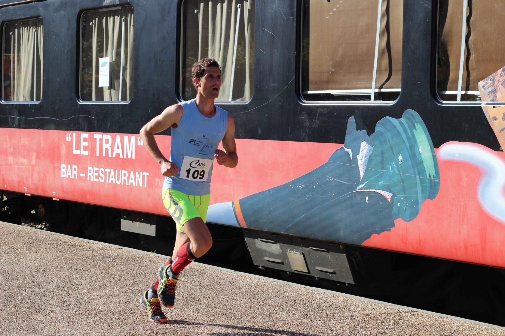 5 eme Tram - RESULTATS, COMPTES RENDUS ET PHOTOS DE LA VOIE DU TRAM A BELLEGARDE / 04-10-15