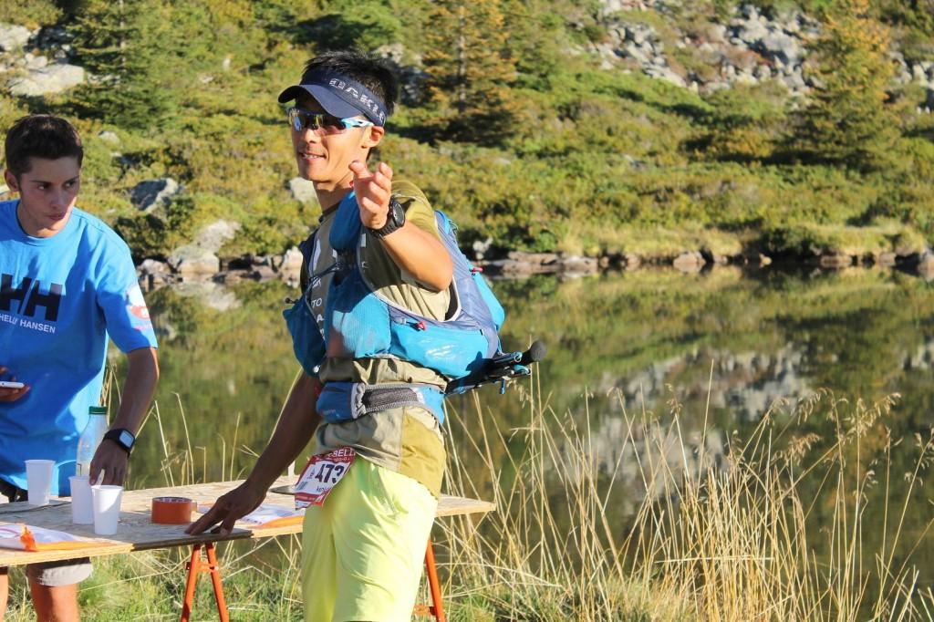 KENICHI YAMAMOTI au lac Léa 1024x682 - ECHAPPEE BELLE HELLY HANSEN. Résultats, compte rendu et photos (reportage d'Alexandre Garin) / 28-29-30 - 08 - 15