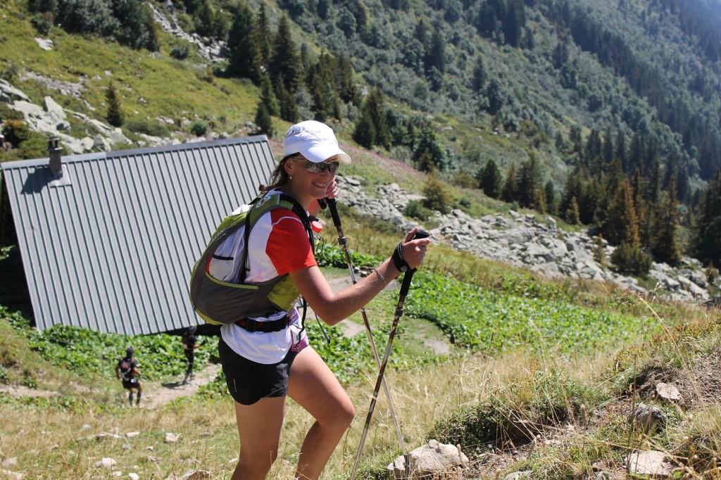 Murielle Oudotte sur le 85km 1024x682 - ECHAPPEE BELLE HELLY HANSEN. Résultats, compte rendu et photos (reportage d'Alexandre Garin) / 28-29-30 - 08 - 15