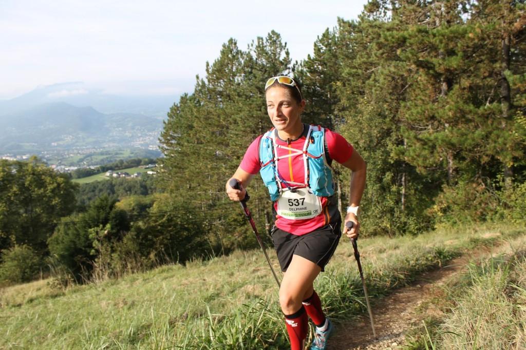 Delphine Coudurier 2ème féminine