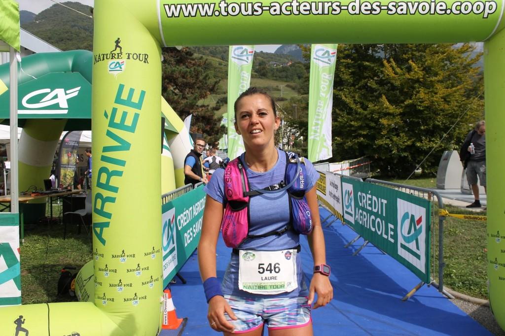 Laure Desmurs s'offre une belle 3ème place
