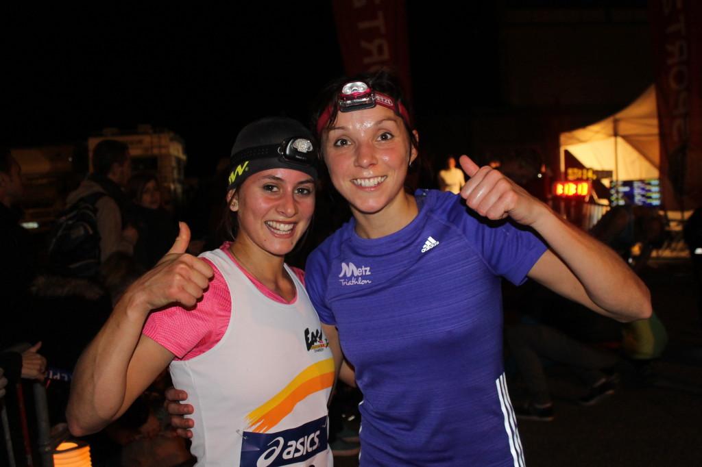 Laure Tassion et Laura Miclo 1 et 2 sur le 10km