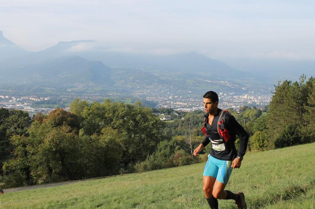 le triathlète Sylvain Rota était encore 2ème après